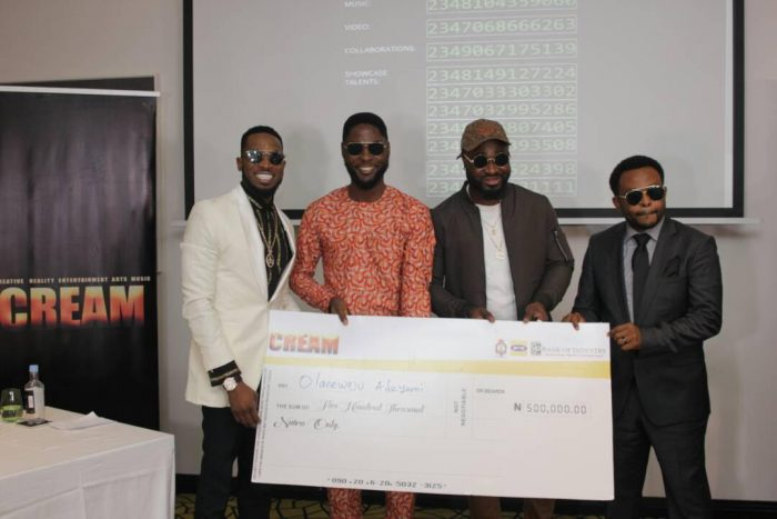 CREAM3 700x467 - D'banj Gives Out Million In Naira To Winners As Cream Platform Celebrates 1 Year Anniversary (See Photos)