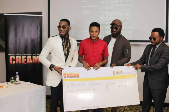 CREAM5 700x467 - D'banj Gives Out Million In Naira To Winners As Cream Platform Celebrates 1 Year Anniversary (See Photos)