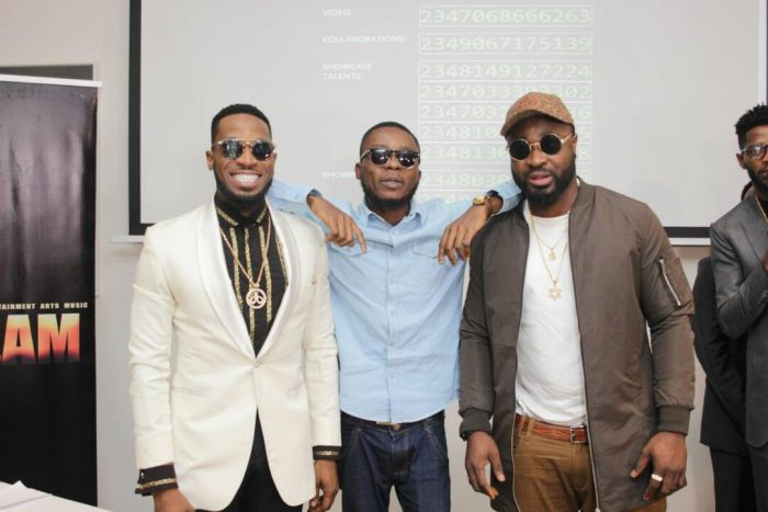 CREAM8 700x467 - D'banj Gives Out Million In Naira To Winners As Cream Platform Celebrates 1 Year Anniversary (See Photos)