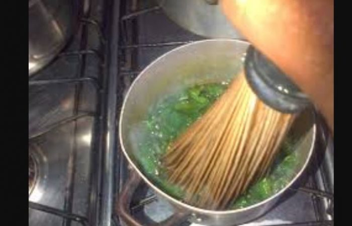 ewedu broom 700x449 - Why It Is Dangerous To Use Broom To Mash 'Ewedu' – Gastroenterologist Warns Nigerians