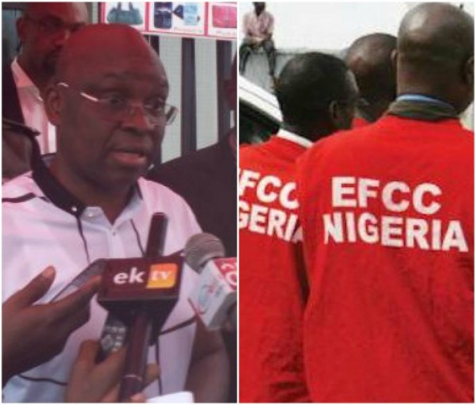 fayose 3 - EFCC Arrests Fayose's Finance Commissioner & Accountant General As He Reacts