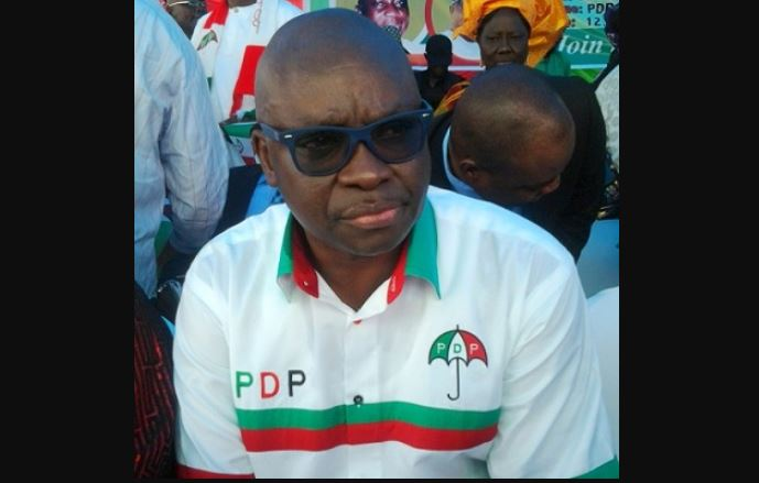 fayose new - Go And Pay Workers' Salaries – APC Blasts Fayose Over Presidential Ambition