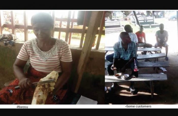 roasted yam biz 700x457 - Aww!! This Is Touching: See How Woman Trained Five Graduates With The Money From Her Roasted Yam Business
