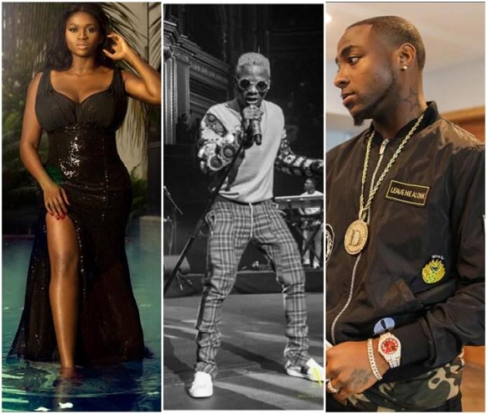 waje - Waje Slams A Davido's Fan Over Wizkid (See What She Said)