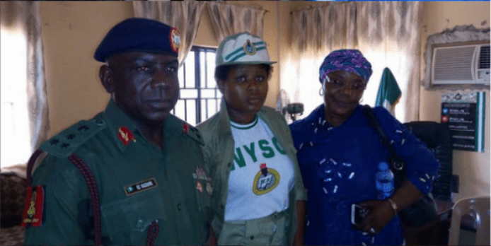 1 17 - Kidnapped Female Corp Member Rejects Redeployment After Regaining Freedom (Photos)
