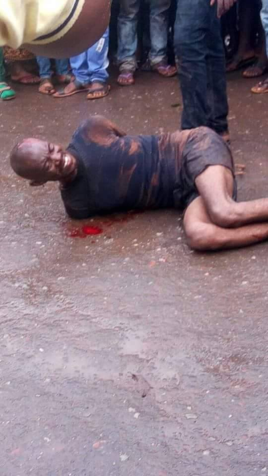 man 7 - WOW!! Man Who Beheaded His Sister In Benue Is Dead (Pictured)
