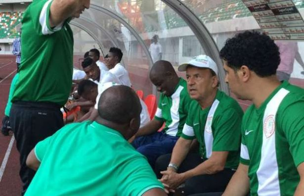 Image result for Russia 2018: Rohr brands NFF's semi-final target excess