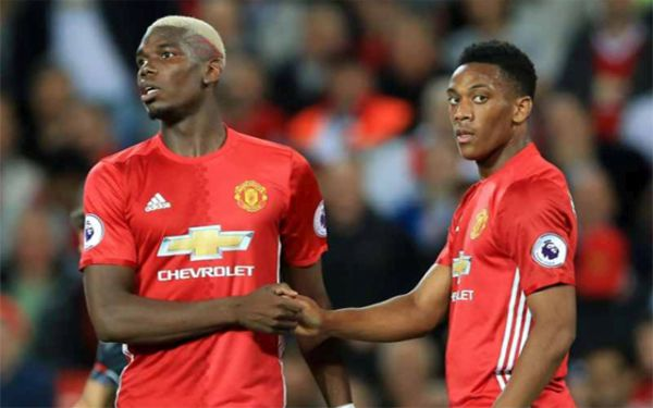 Pogba, Martial Out Of Manchester United's Trip To West Ham, James Doubtful