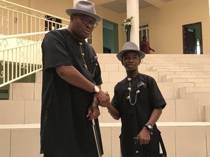 See How This 14-Year-Old SS1 Student Becomed the Commissioner In Bayelsa, (Photos)