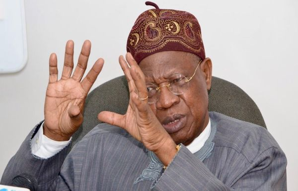 Lai Mohammed Finally Speaks On 'Threat Comment' To Israel Over Nnamdi Kanu