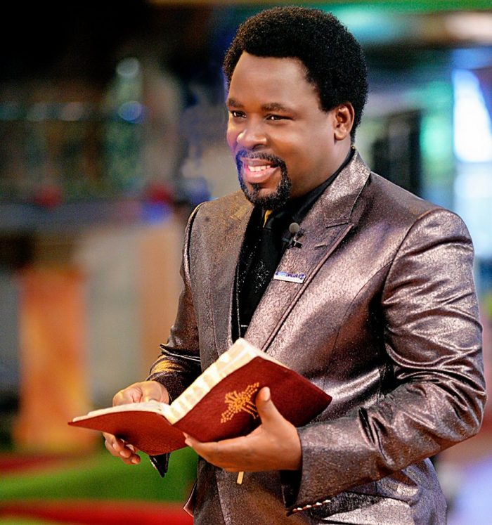 Image result for prophet tb joshua