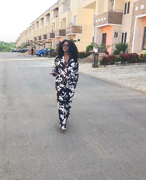 Genevieve Nnaji is a proud owner of an estate in the Nation's capital