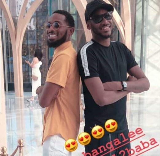 Image result for 2FACE AND DBANJ VACATION IN DUBAI