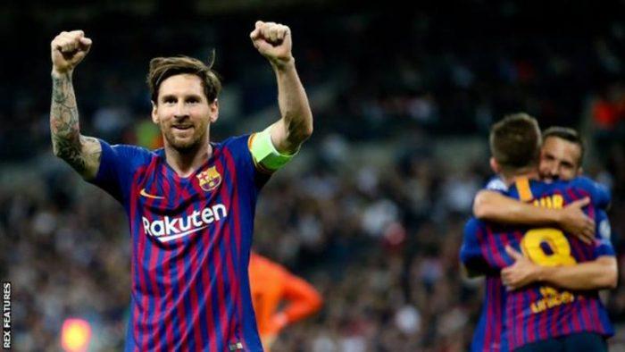 SWEET MATCH!! The Great Messi Scores Twice As Barcelona Beat Tottenham 4 – 2 (Goals Highlight)