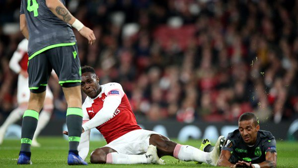welbeck 1 - Nani Sends Message To Arsenal Striker Danny Welbeck After SHOCKING INJURY In Europa League