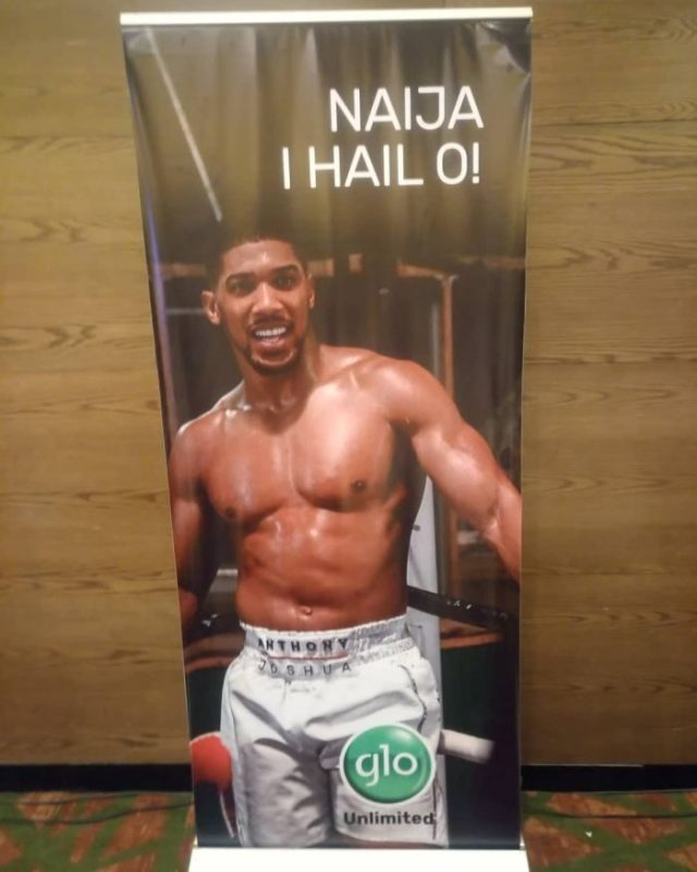 BREAKING NEWS!! Anthony Joshua Unveiled As New GLO Ambassador 2