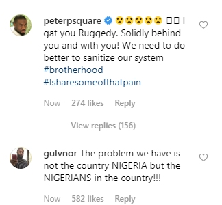 Nigerian Celebrities React After Rugged Man Was Attacked In London