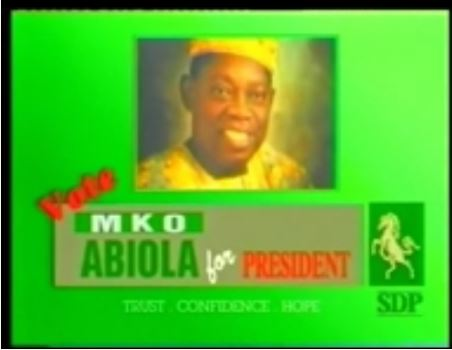JUNE 12!! Checkout MKO Abiola Campaign Jingle In 1993 (Throwback Video)