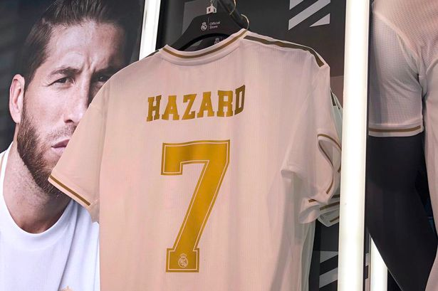 See The Official Shirt Number Eden Hazard Will Wear In Real Madrid (PHOTO)