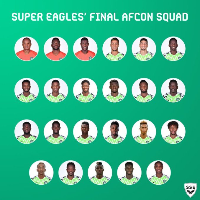 Super Eagles Boss Drops Iheanacho For AFCON 2019 (See 23-Man Squad)