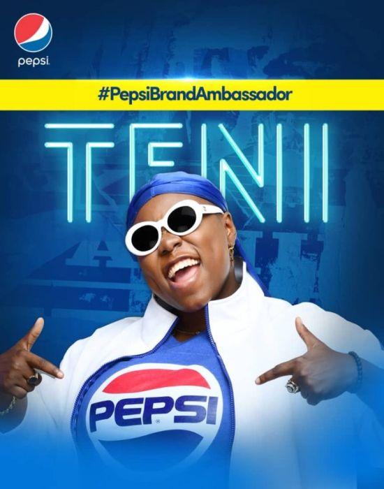 Pepsi Unveils Teni The Entertainer And Burna Boy As Brand Ambassadors