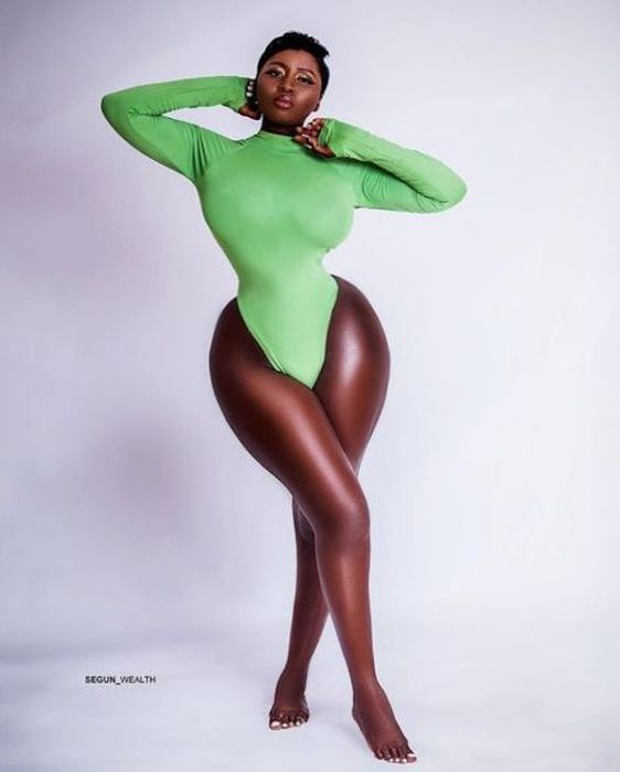 UNBELIEVABLE!!! This Actress, Princess Shyngle Body Shape Can't Be Real (Photo)