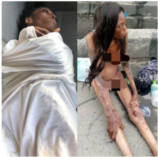 Update On Naked Emaciated Woman Filmed At Jubilee Bridge Ajah 2