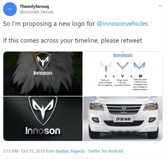 Innoson Motors Chairman Invites Man Who Re-Designed Innoson Logo 3