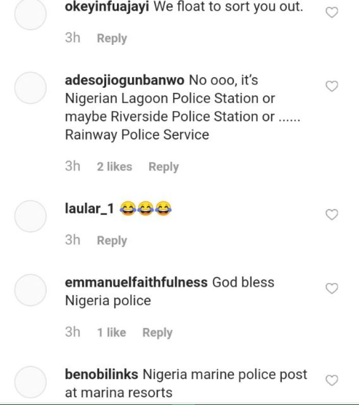 Police Station Flooded After Rainfall As Nigerians React (Photos) 3