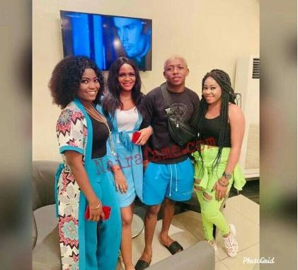 Davido's Accusers Hang Out With Small Doctor (Photos)