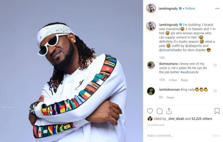 Paul Okoye Says He Is Currently Building 3 Mansions, Reveals Their Locations 4