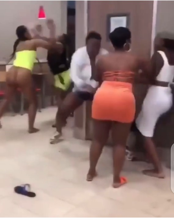 MARLIANS!! LADIES WITH BIG ASS STRIPED NAKED WHILE FIGHTING (PHOTOS) 3