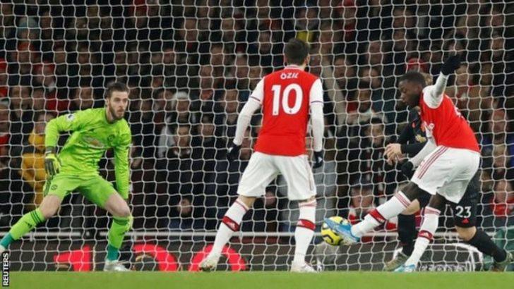 [Goals Highlight] Arsenal 2 – 0 Man United (Watch Here) 2