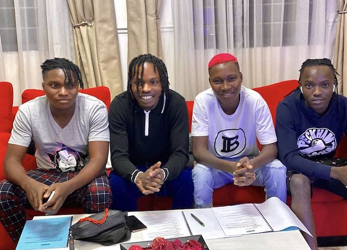 """Naira Marley Officially Unveils His Artistes Signed To His New Record Label """"Marlians Music"""" 2"""