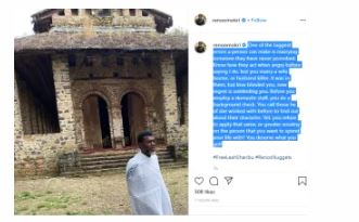 Don't Marry Someone You Have Never Provoked – Reno Omokri