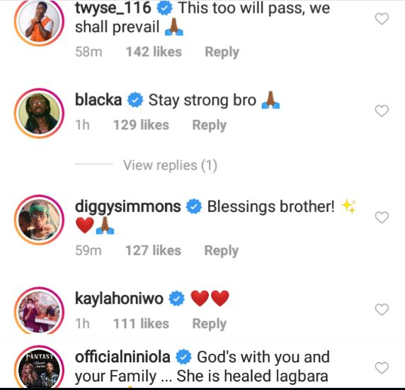 See How Toyin Abraham, Others Are Reacting To Davido's Wife, Chioma, Contracting Coronavirus 2