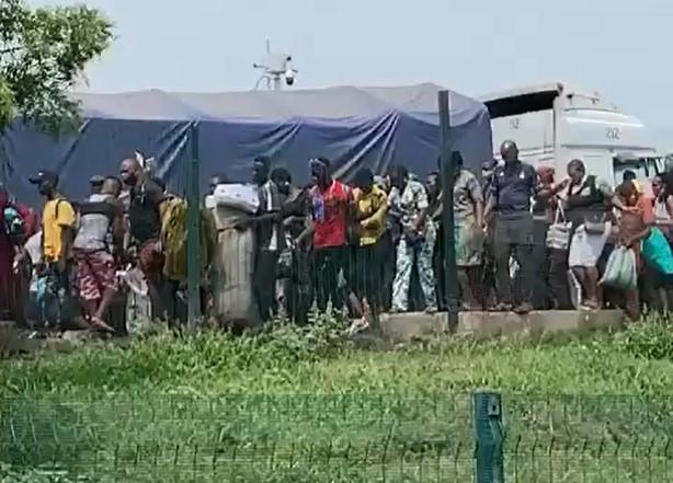 NO GO AREA!! Onitsha Closed Borders And Restrict Movement Amid Coronavirus (VIDEO)