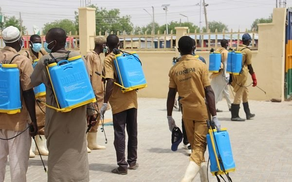 COVID-19: Yobe Begins Fumigation Of Public Offices