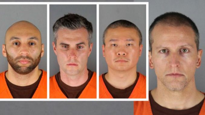 4 Minneapolis Officers Now Charged In George Floyd's Death; Mugshots Released 1