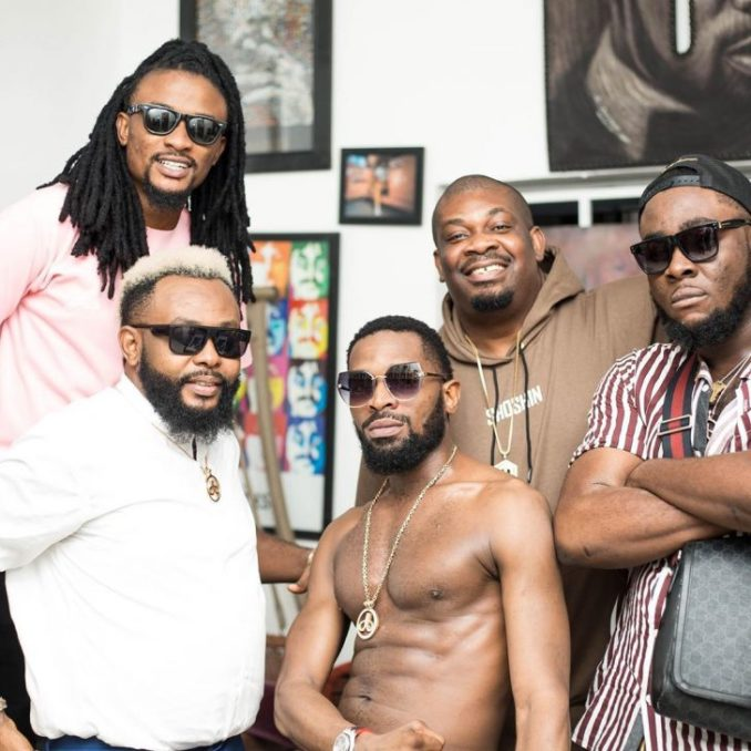 """""""Your Daddies"""" – Don Jazzy Shares Lovely Photo With Dbanj 2"""
