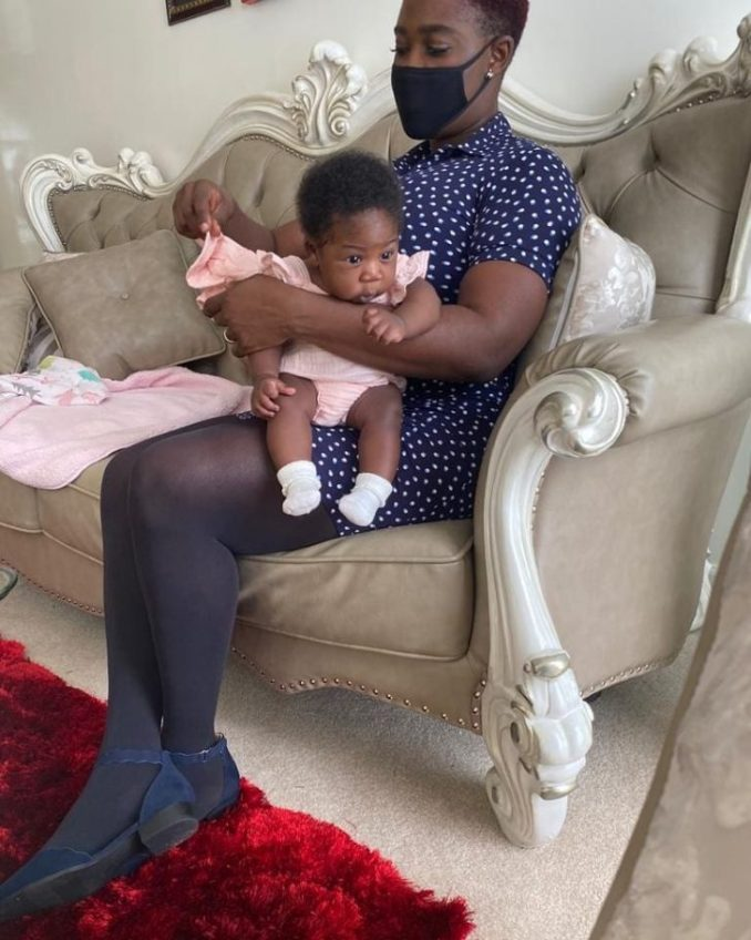 Checkout Lovely New Photos Of Actress, Mercy Johnson And Her Fourth Child 1