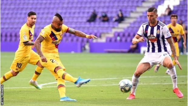 Goal Highlight: Valladolid 0 – 1 Barcelona