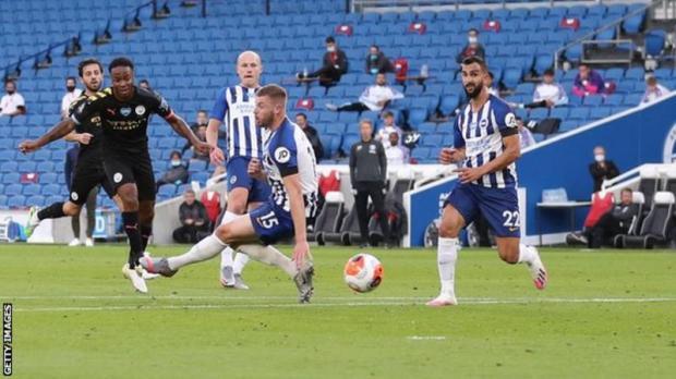 Watch Brighton 0 – 5 Man City Goal Highlight