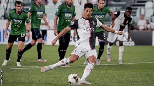 Watch Juventus 2 – 2 Atalanta Goal Highlight