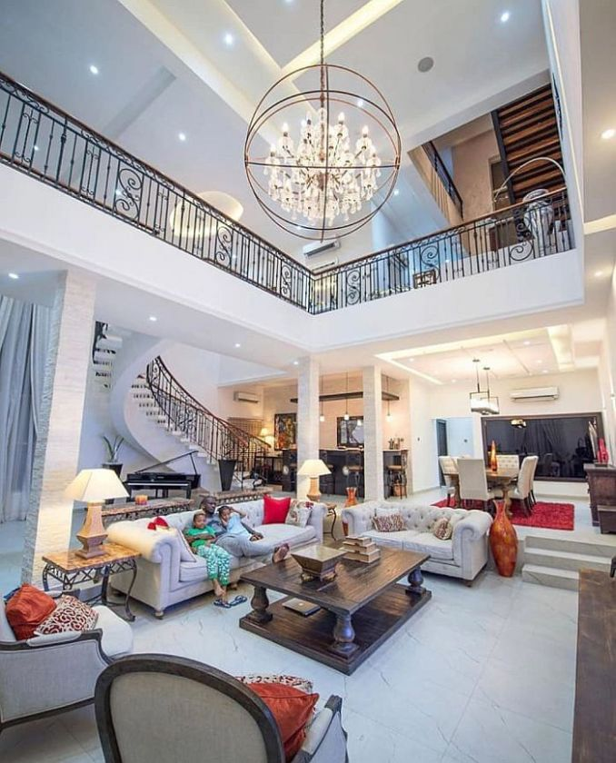 TOO MUCH MONEY!! See Stunning Photos Showing Inside Of Peter Okoye's $3.8 Million Banana Island Mansion 1