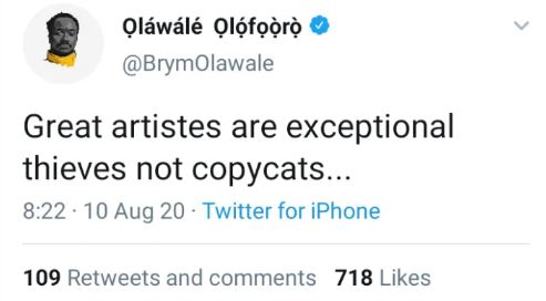 legends dont copy - Brymo