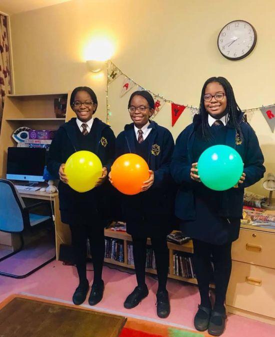 Tony Elumelu Celebrates His Triplet Daughters On Their 14th Birthday