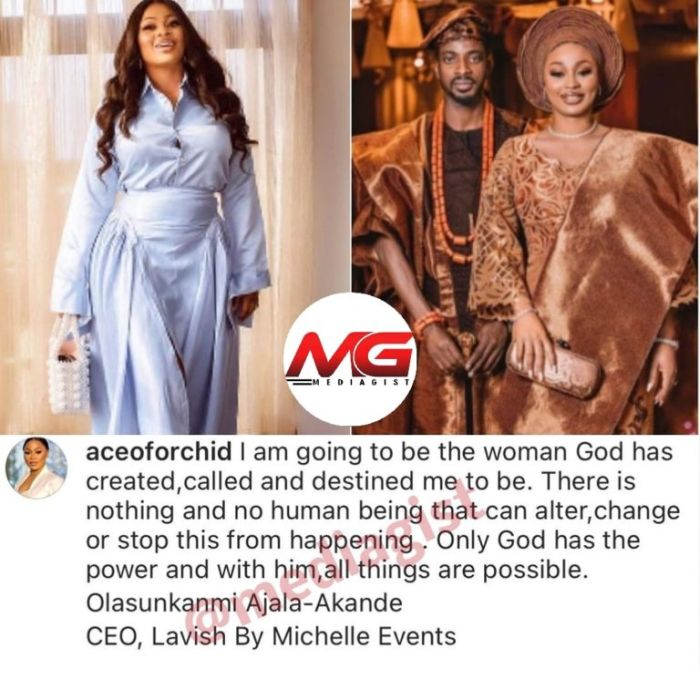 9Ice' Wife, Olasunkanmi Breaks Silence Following Leaked Video Of Her Husband Cheating