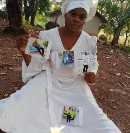Hushpuppi Fan Goes Spiritual, Prays For His Release From An Unknown Mountain (Photos)