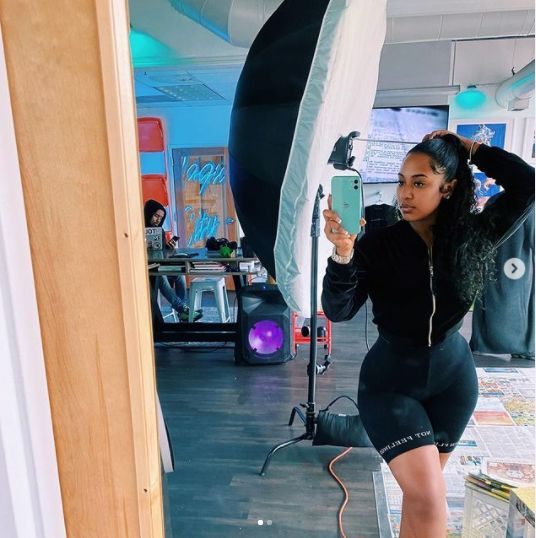 WOW!! Check Out 20 Hot Photos Of Mya Yafai, Davido's New Girlfriend After He Left Chioma 15